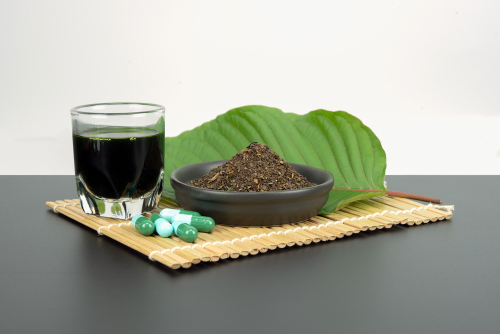 Kratom leaf capsules